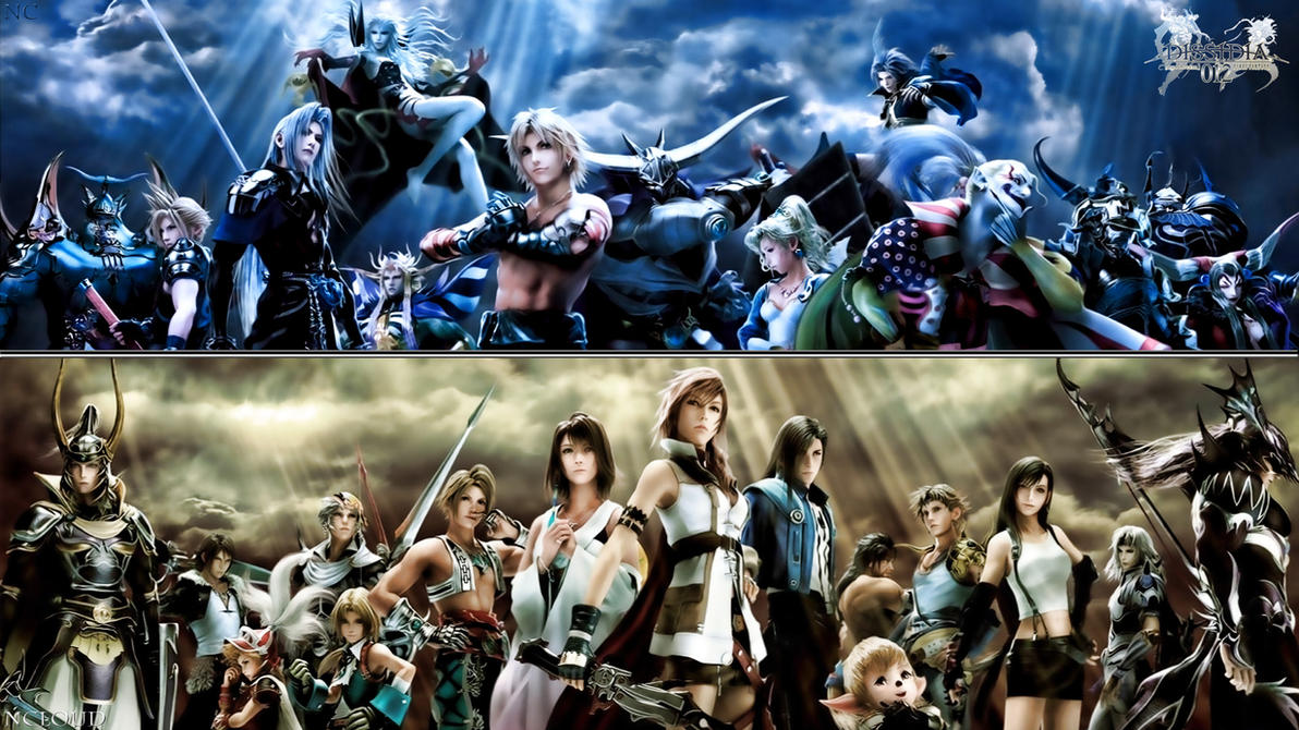 Dissidia 012 Choose your side by NaughtyBoy83