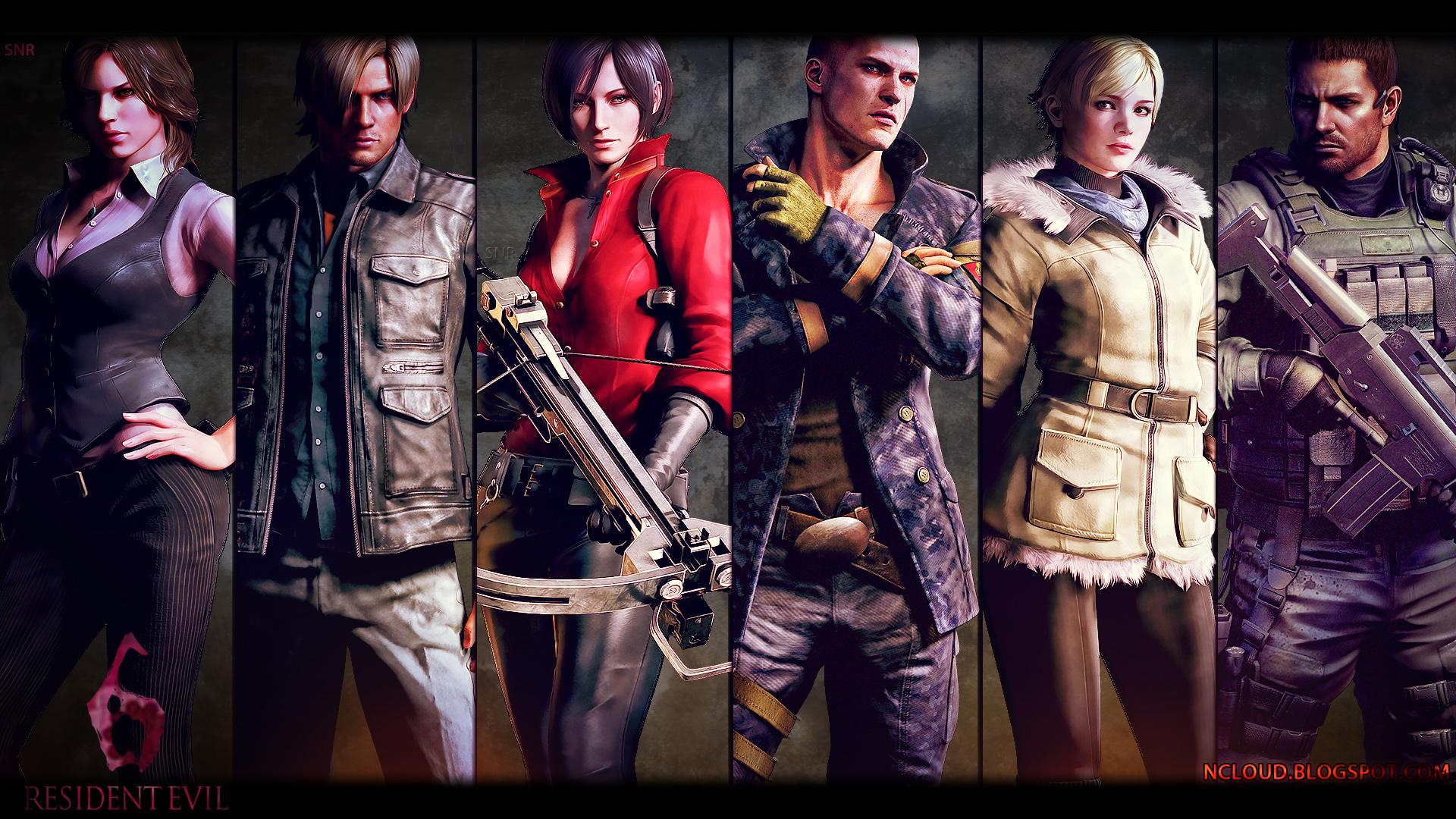 Wallpapers De Resident Evil 6 Alguno Te Llevas + Yapa