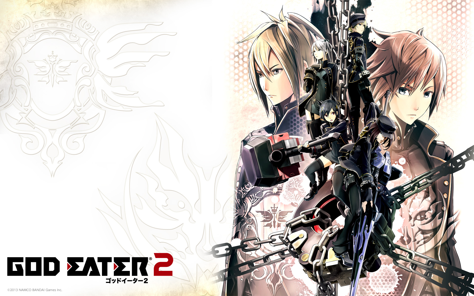 games movies music anime god eater 2 new art wallpapers