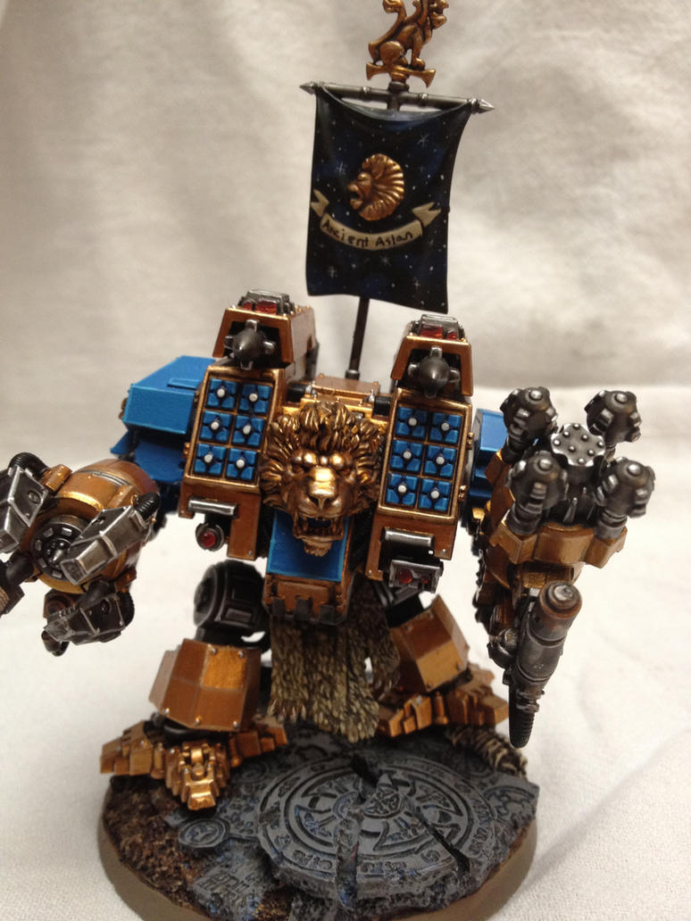 Celestial Lions Dreadnought by rhoadesd20