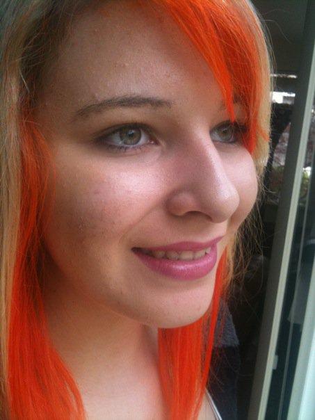 Napalm Orange Hair Dye Uk