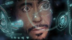 Iron man locking on by lane-nee-chan