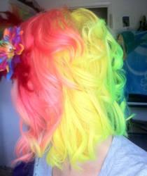 Rainbow hair again 2
