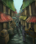 The Strange Alley by naturalradical