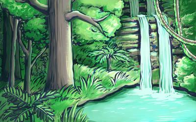 Rainforest Speedpaint by naturalradical