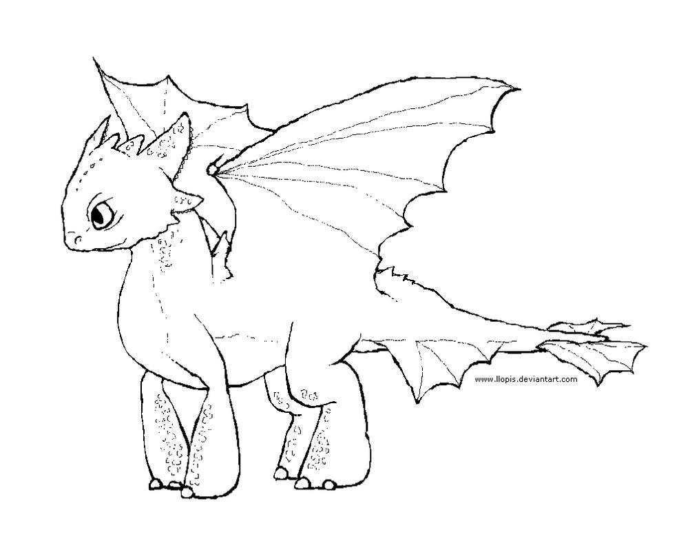 Lujoso Lindo Dragón Para Colorear Bosquejo - Dibujos de Animales ...