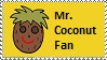 Mr. Coconut Fan stamp by Maramasama