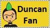 Duncan Fan stamp by Maramasama