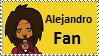 Alejandro Fan stamp by Maramasama