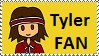 Tyler Fan stamp by Maramasama