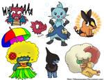 Pokemon art dump 2