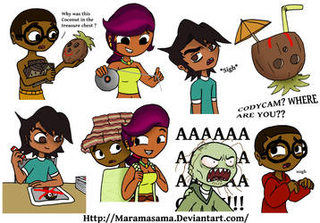 Some Total Drama by Maramasama