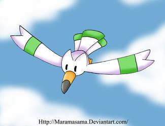 Shiny Wingull by Maramasama