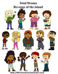 Total drama Revenge of the Island characters