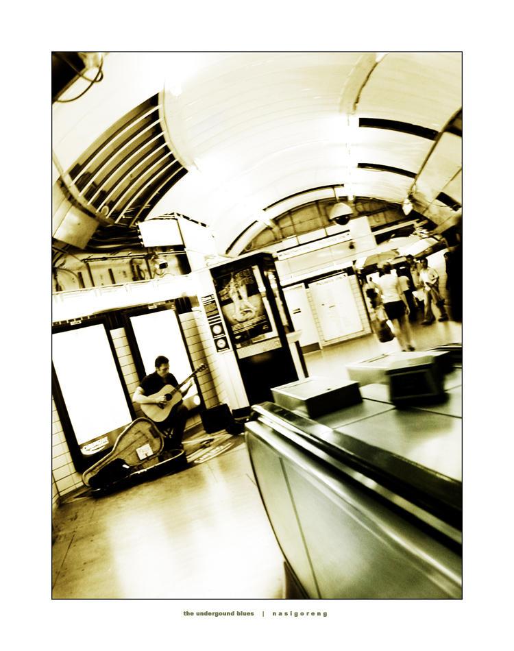 Underground Blues by nasigoreng