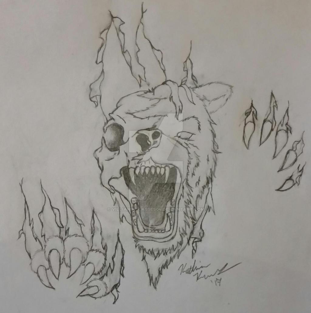 Zombie Bear Tattoo By Villianinglasses04 On Deviantart