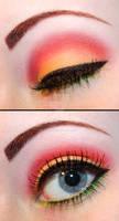Rasta eyeshadow