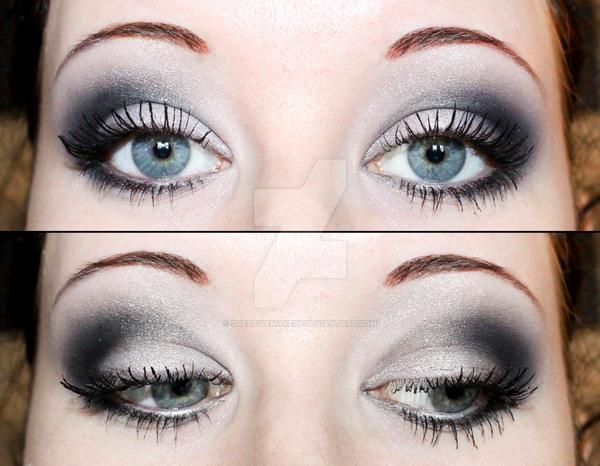 Smokey eyes eyeshadow by Creativemakeup
