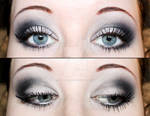 Smokey eyes eyeshadow