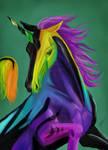 Commission: Aurora Borealis