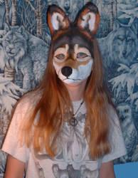 Wolf Spirit Mask by Mintakawolven