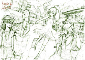 Concept drawing by HAYADAI
