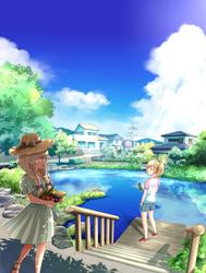 Summer sky 2 by HAYADAI
