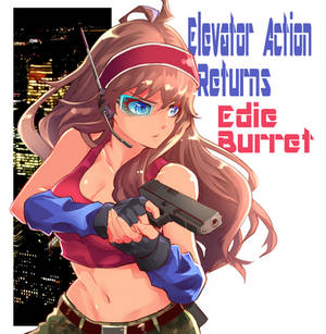 Edie Burret from Elevator Action Returns