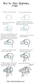 How to draw argonians -part 1-