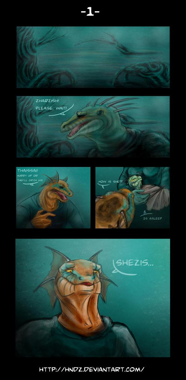 Argonian Tales -1- by Hndz