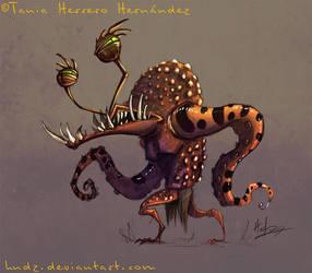 Cartoon monster 1 by Hndz