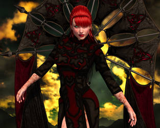 The Lady Shadowclaw by grillghod