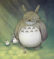 Totoro by Furin94