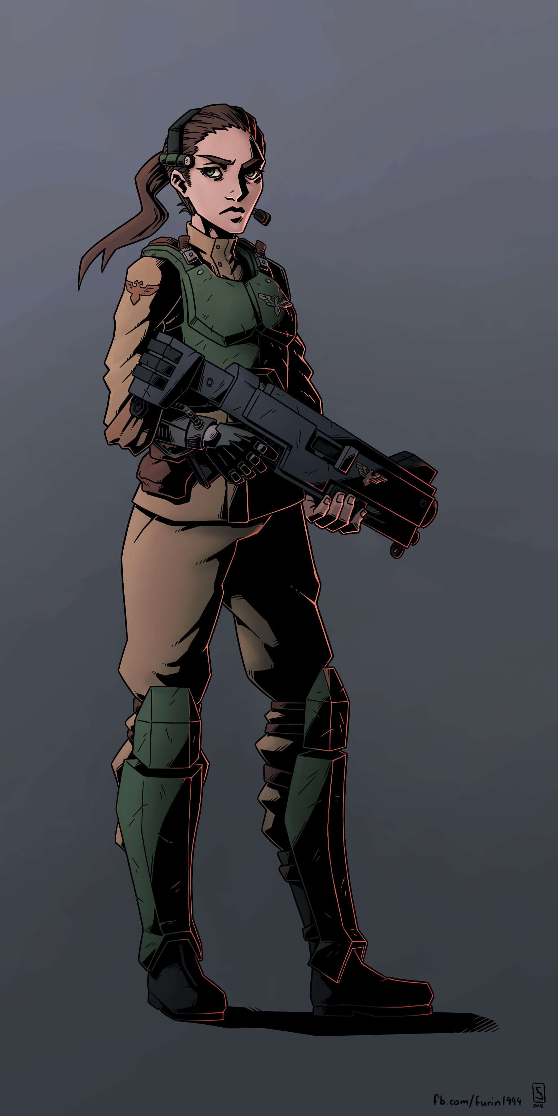 Commission: Imperial Guard by Furin94 on DeviantArt