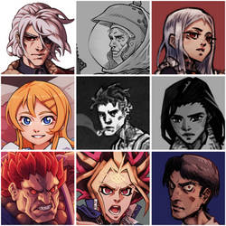 Faces by Furin94