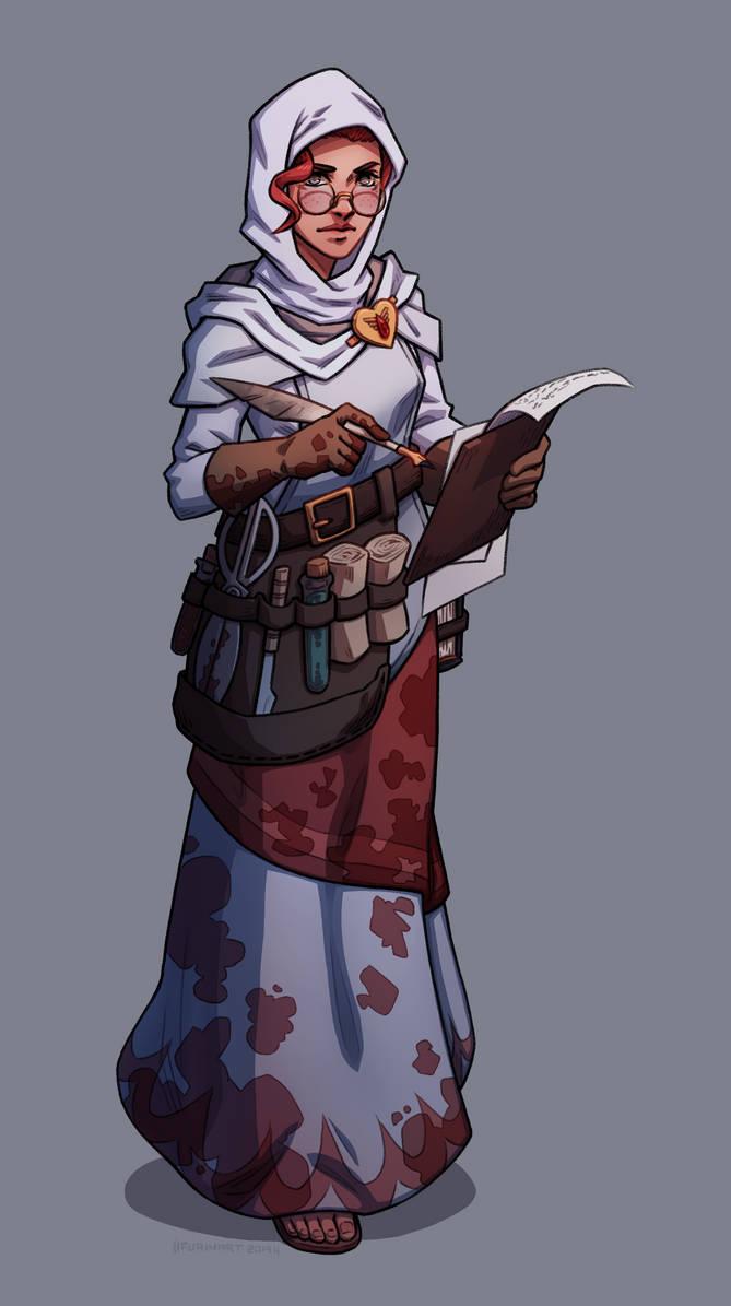 Commisison: Warhammer Fantasy Nun by Furin94