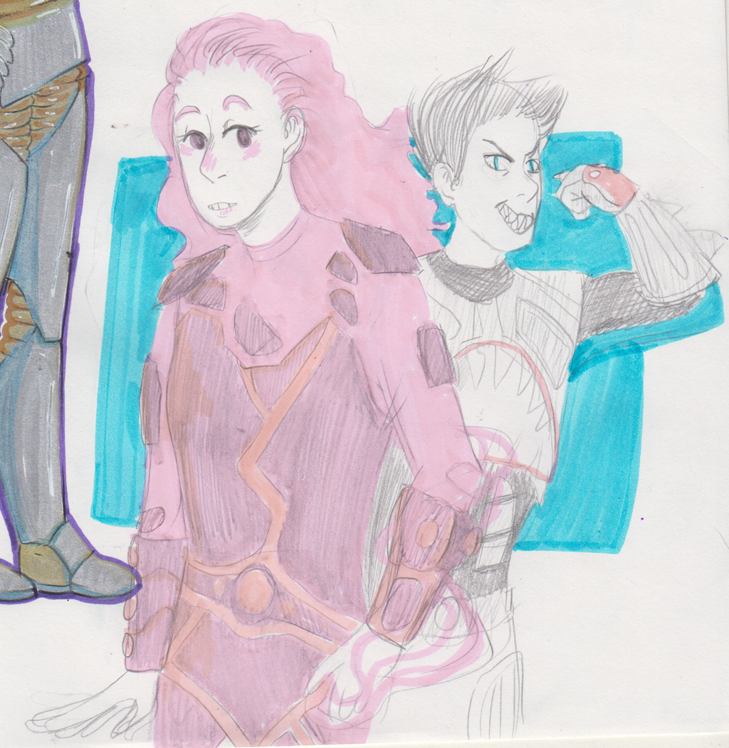 sharkboy and lavagirl by coffeeteacup on DeviantArt