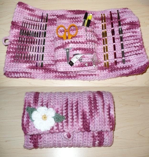 Free Crochet Pattern Hook Case : Crochet hook case by azucena16 on DeviantArt