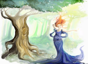 Gleam with Joy by Elaynies