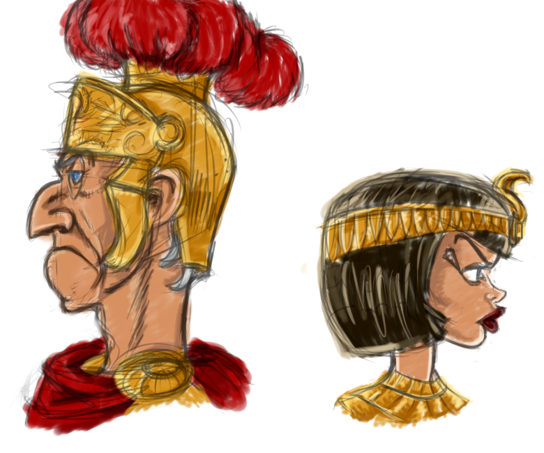 cesar and cleopatra by twista lolita on deviantart Julius Caesar Art Julius Caesar and Cleopatra