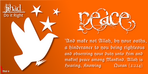 The Greater Jihad: Peace