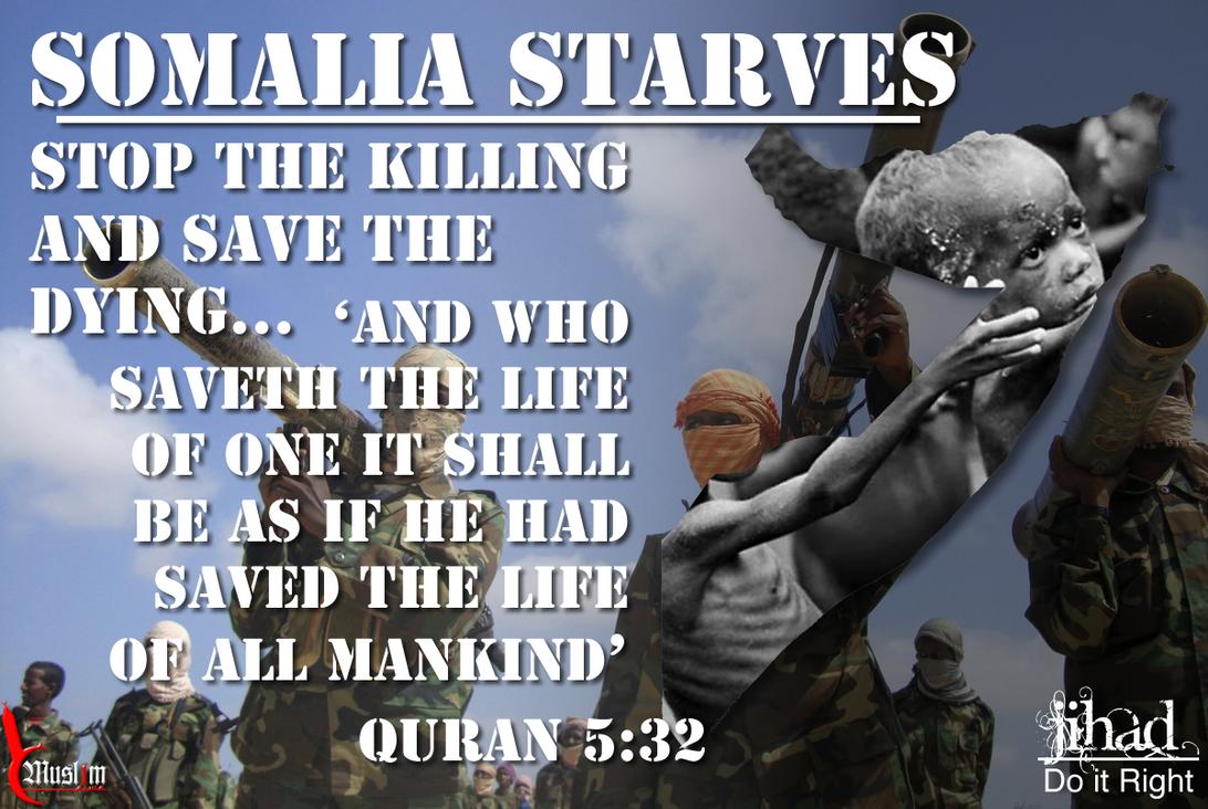 Somalia Starves by DigitallyDestined