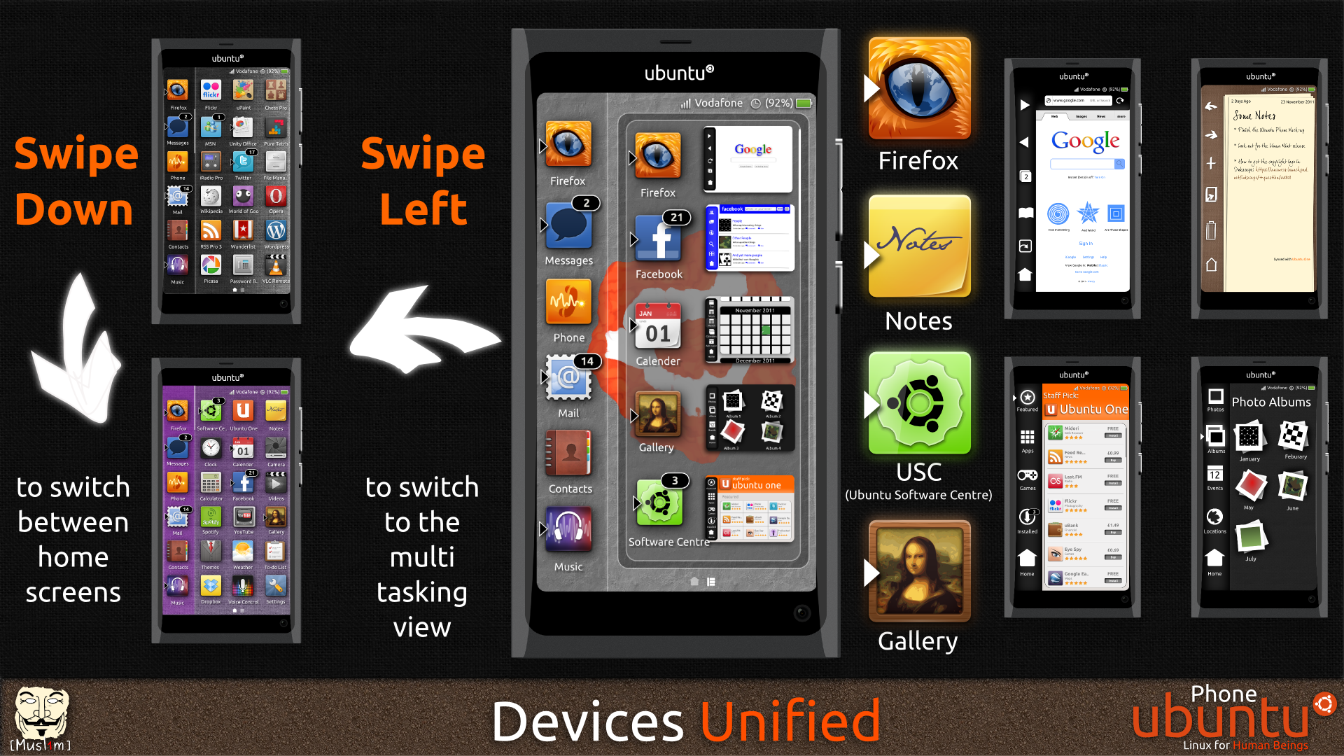 Ubuntu Phone - Fan Concept