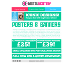 Poster-Banner Design Page Redesign