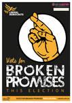 #keepingitrealposter Lib Dem EUelection Poster '14