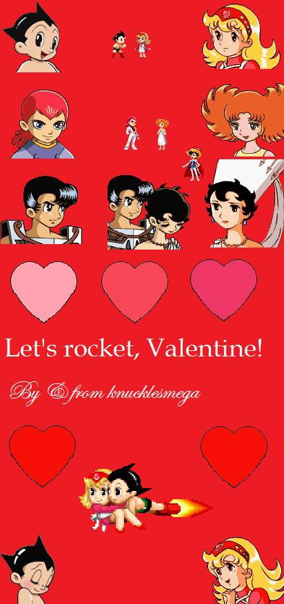 astro boy valentines day card by knucklesmega - Boy Valentines