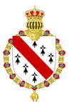 Coat of Arms for the Georgian Empire (Lesser) by Aleksandr-2