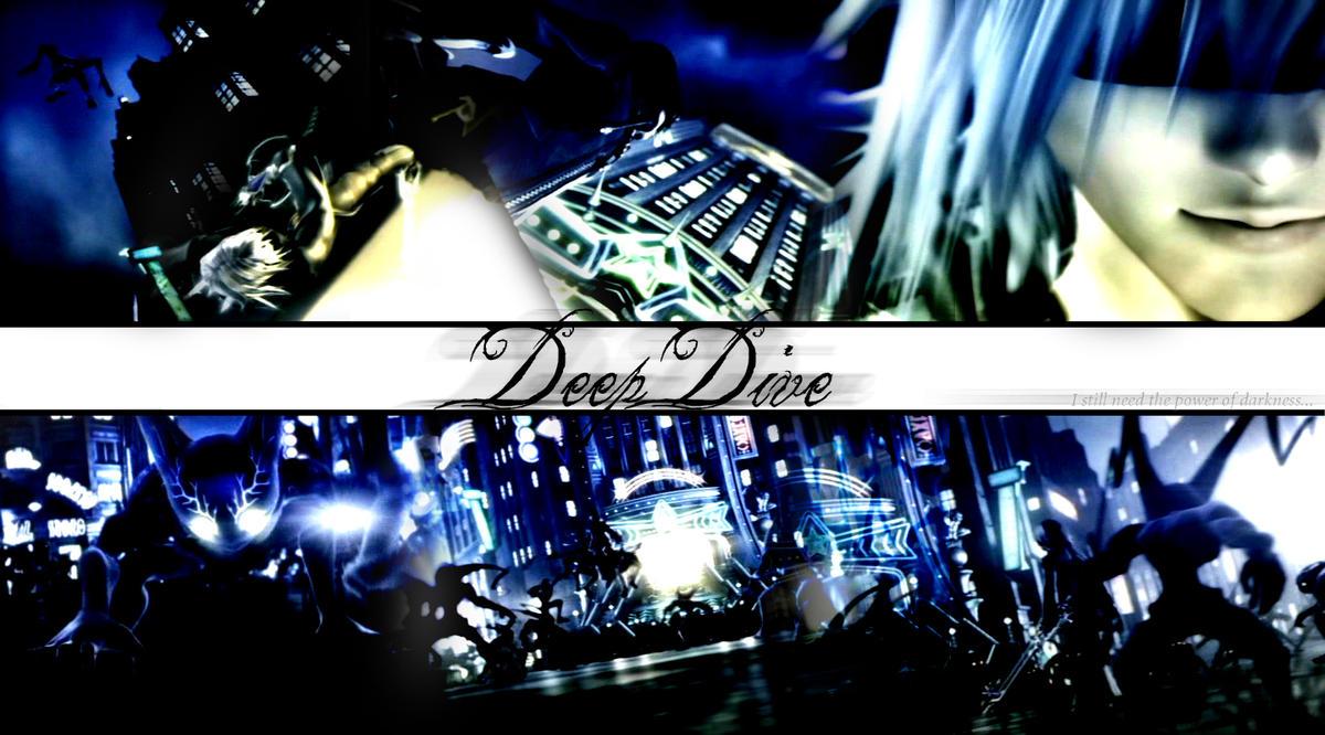 Deep dive wallpaper by kamoku ai on deviantart - Kingdom hearts deep dive ...