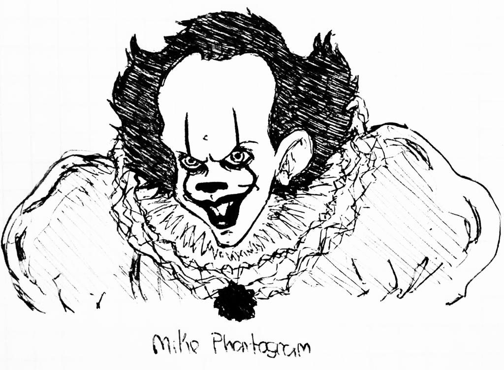 how to draw pennywise the clown 2017 step by step