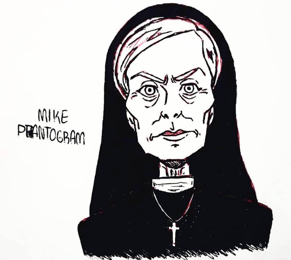 Sister Jude AHS ASYLUM by mike-phantogram on DeviantArt